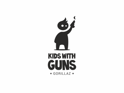 Kids With Guns guns with kids gorillaz song child weapons