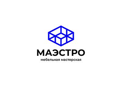 Maestro lines cube workshop furniture stool chair logo