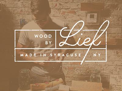 Wood By Lief website wood logo