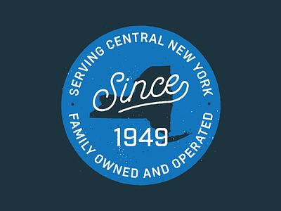 Since 1949 new york badge