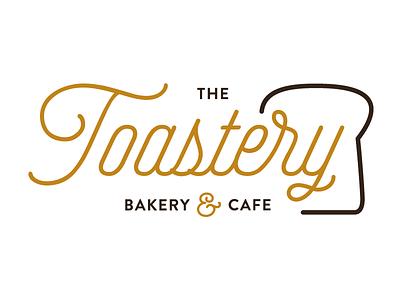 The Toastery toast cafe bakery logo