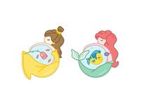 Belle & Ariel