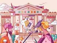Hallo: Universities
