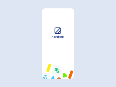 Concept design for Novo Digital Bank motion graphics animation userinterface mobile banking banking finance fintech ux ux design ui design ui
