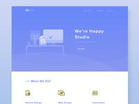 97.Studio Landing Page