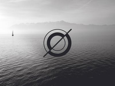 Icon icon vector circles sea dark