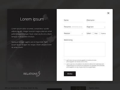 Form web webdesign form ui ux