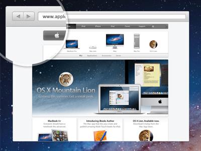 Free PSD. Browsy - Mini browser. ui ux grey web free psd browser mini download