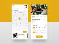Hairdresser app – Concept