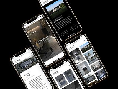 Responsive website mobile design webdesign after effects minimalistic clean black responsive design design animation web iphone ux ui