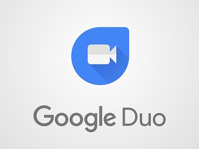 Google Duo Icon Design in Sketch (sketch file) redesign logo camera video duo google