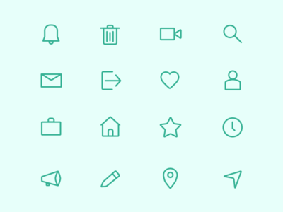Line Icons file sketch iconset icons line