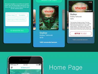 BiBenzeri App iOS UI&UX Mobile Design ios mobile app similar music book movie