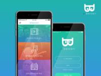 BiBenzeri App iOS UI&UX Mobile Design