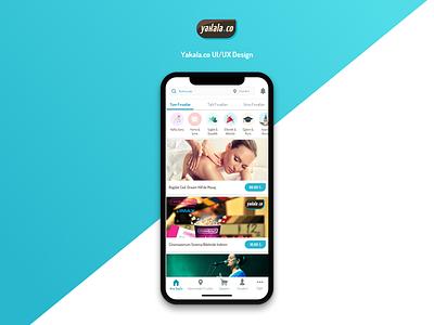 Yakala.co App UI/UX Design android ios yakala app mobile