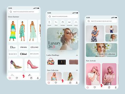 Fashion app design product design uiux ux ui model fashion design fashion designer luxury design women fashion fashion app fashion