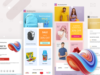 Emails and newsletters design emails email templates email template design newsletter template ui ux mail email campaign mailchimp newsletter mailchimp template mailchimp newsletter design email template email receipt email marketing email design newsletter email receipt emailshot