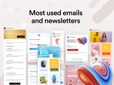 Emails and newsletters figma email template design email templates reset password welcome email newsletters ui ux mail mailchimp newsletter template newsletter design newsletter source file free download email marketing email template email design email