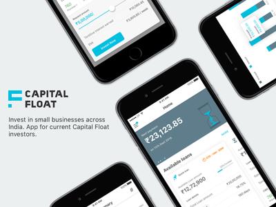 Capital Float's iOS Investors App