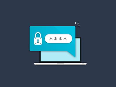 🔐Login🔐 Illustration illustration flat vector lock sign in web security password login