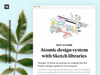 Atomic Design System With 💎Sketch Libraries