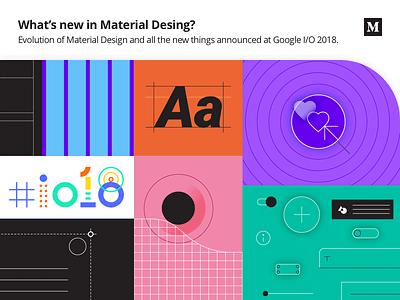 What's new in Material Design? post blog story medium google gallery theme editor flat ui ux google io material design