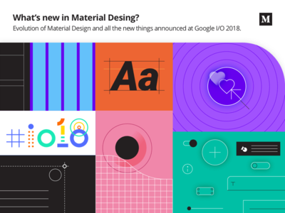 What's new in Material Design? post blog story medium google gallery theme editor flat ui ux google io material design