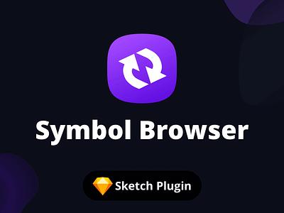 Symbol Browser - sketch plugin browse design system library symbol plugin sketch