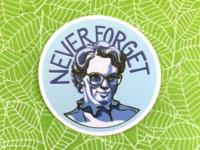 RIP Barb Sticker