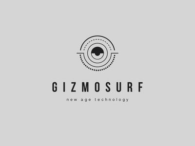 Gizmosurf round sphere technology logo