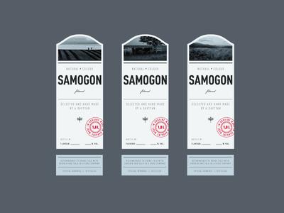 Samogon alchogol bottle packaging samogon