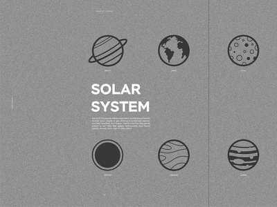 Solar System  space planets system solar