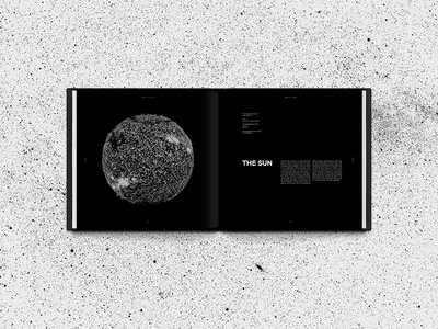 Space Book Page