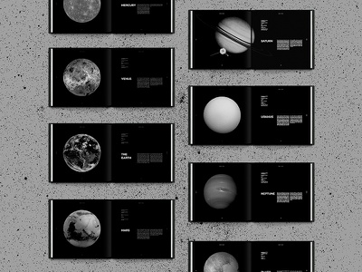 Planets space book planets