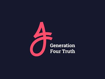 Generation 4 truth generation 4 four truth monogram church youth ministry god jesus
