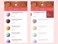 Ramen App Desserts
