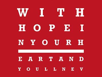 Liverpool FC Eye Chart - You'll Never Walk Alone liverpool liverpoolfc anfield anthem youll never walk alone