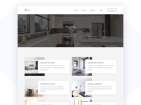 inox - Kitchen & Interior Design Template