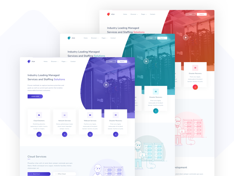 Alya It Solutions And Corporate Template
