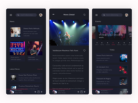 Musicly - Music and Podcast App UI Kit