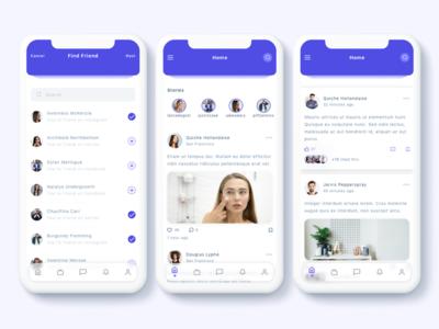 Susen - Social Network App UI Kit
