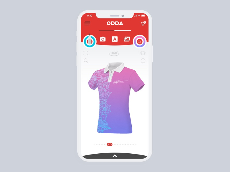 Concept Store - 3d Editor for T-shirts by Andrew Bro | Dribbble