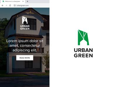 """Urban Green"" logo"