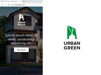"""Urban Green"" logo"