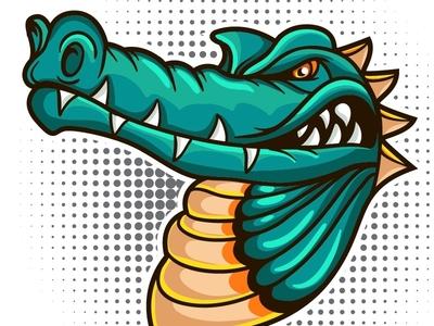 Crocodile Vector mascot