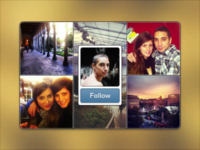 Instagram widget initial