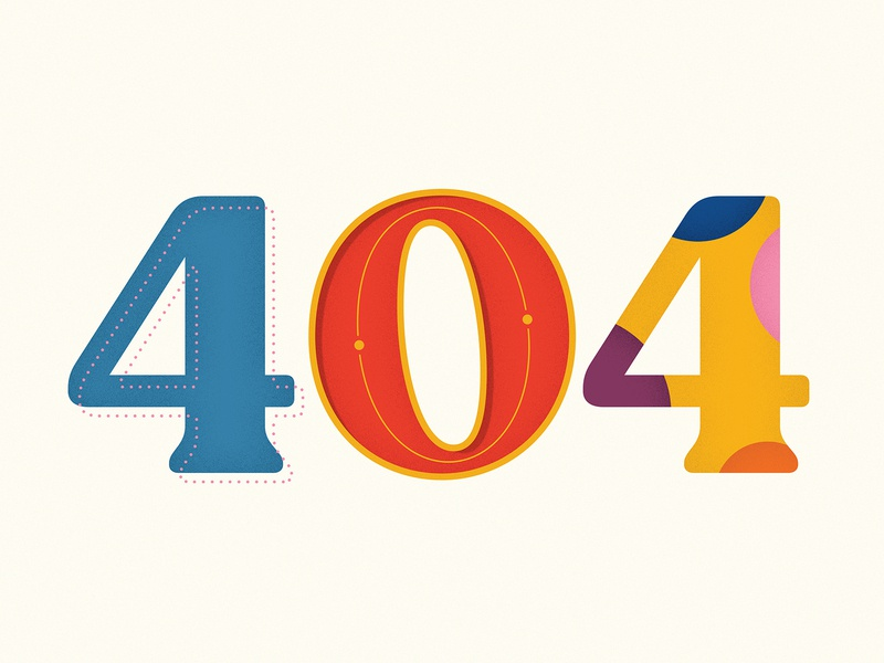 http 404 typography logo illustration design creative south branding 404 page 404 error 404