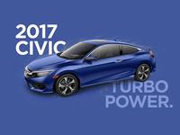 Honda Civic Ad Concept