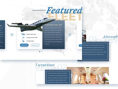 Aviation Website website interface sketch plane ui ux graphic design web design