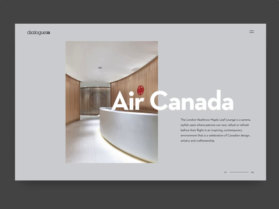 Dialogue38 Concept architecture interior design graphic design design sketch invision studio website concept ux ui web design